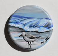 Sanderling Metal Tin